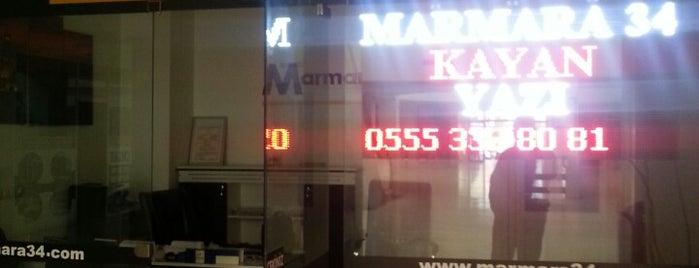 Marmara 34 Gayrimenkul is one of Şenayさんのお気に入りスポット.