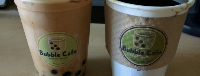 Bubble Cafe is one of Locais salvos de Kris.