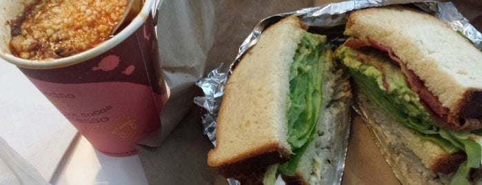 JoeDough Sandwich Shop is one of Lugares favoritos de Price.