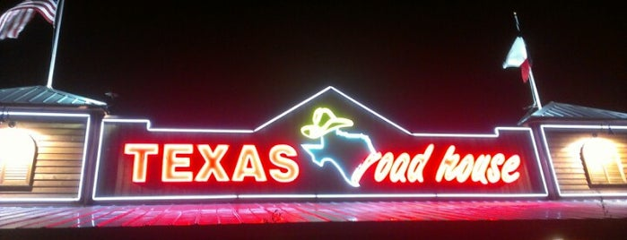 Texas Roadhouse is one of Locais curtidos por Cross.