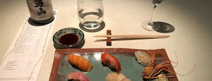 Sushi Kashiba is one of Tempat yang Disukai Bridget.