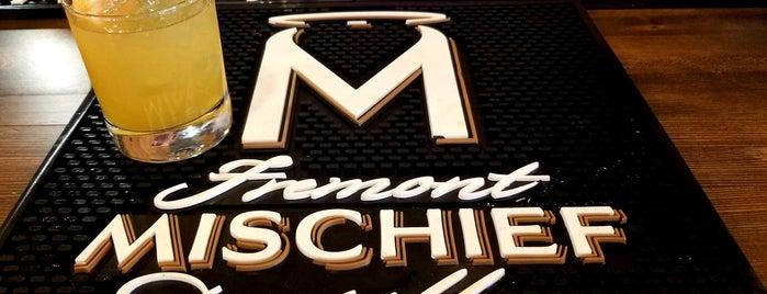Fremont Mischief Distillery is one of Craft Distilleries Guide Dec 2011.