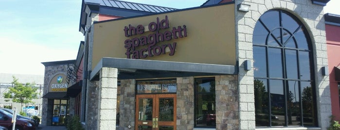 The Old Spaghetti Factory is one of Lola's Liked Places.