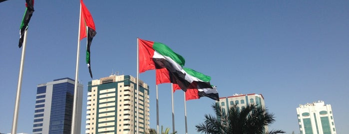 Abu Dhabi Municipality is one of สถานที่ที่บันทึกไว้ของ LaLita.