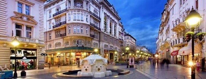 Knez Mihailova Caddesi is one of Belgrad.