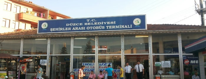 Düzce Şehirler Arası Otobüs Terminali is one of bulunduğum yerler.