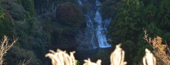 粟又の滝 is one of Lugares favoritos de Yutaka.