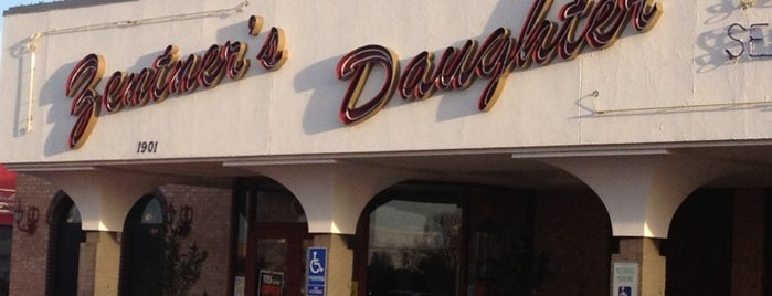Zentner's Daughter Steakhouse is one of Texas Places.