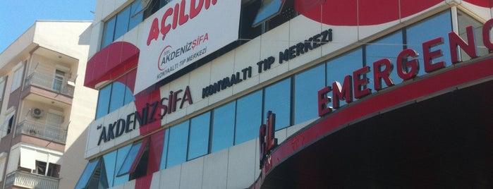 Akdeniz Şifa Konyaaltı Tıp Merkezi is one of MUTLU : понравившиеся места.
