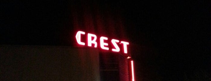 Crest Cinema Centre is one of Neon/Signs Washington.