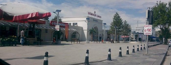 Seğmenler Çarşısı is one of Gezilesi Mekanlar.