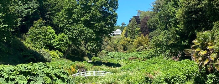 Trebah Gardens is one of Mallory's Liked Places.