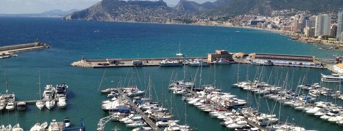 Puerto de Calpe is one of #calpemocion.
