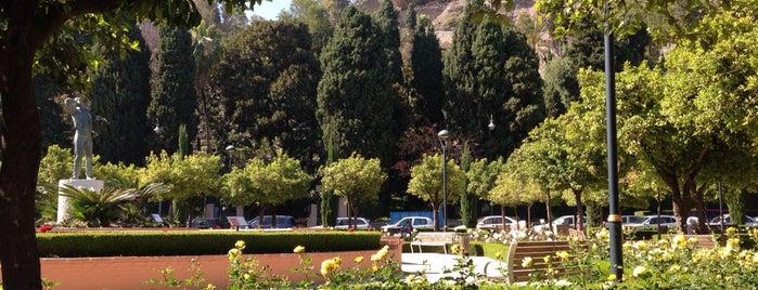 Jardines de Pedro Luis Alonso is one of Qué visitar en Málaga.