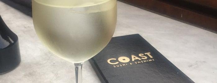 Coast Sushi & Sashimi is one of Orte, die Carol gefallen.