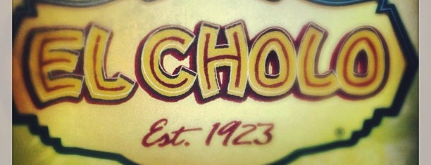 El Cholo is one of DTLA local digs.
