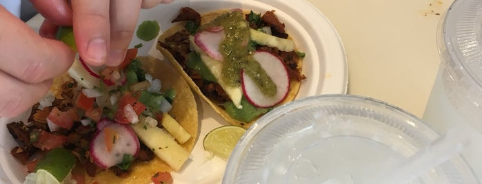 Los Tacos Al Pastor is one of New Hood.
