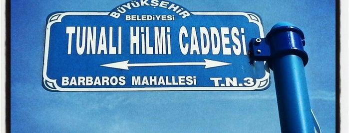 Tunalı Hilmi Caddesi is one of my love Ankara.