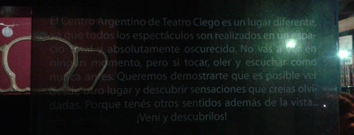 Centro Argentino de Teatro Ciego is one of Buenos Aires.