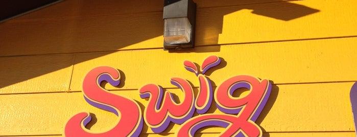 Swig is one of สถานที่ที่ Ray ถูกใจ.