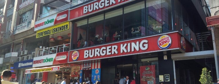 Burger King is one of Lugares favoritos de 'Savaş.