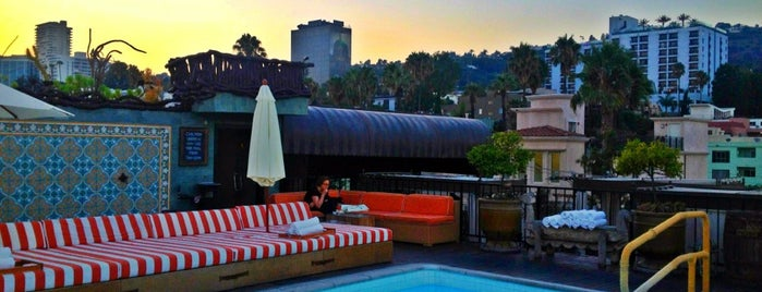 Rooftop Pool At Petit Ermitage is one of #myhints4LosAngeles.