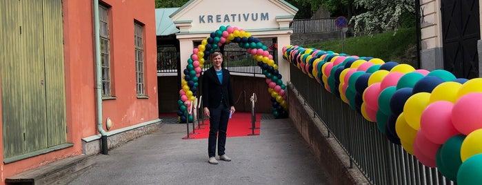 Kreativum is one of Activities.