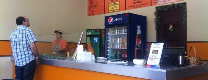 La Frontera Burritos Bar is one of En Nica.
