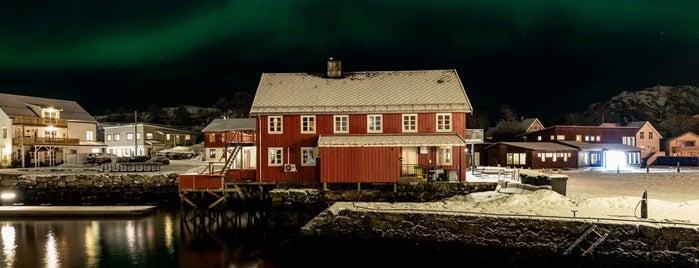 Præstengbrygga is one of Lofoten // Norway.