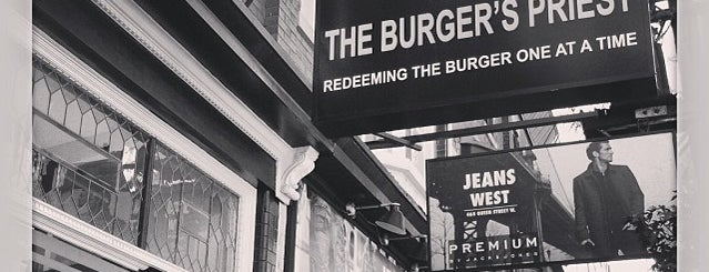 The Burger's Priest is one of Favourite Food Spots in Toronto.