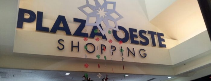 Plaza Oeste Shopping is one of Alejandro'nun Beğendiği Mekanlar.