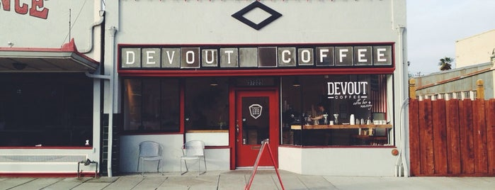 Devout Coffee is one of Clarissa 님이 저장한 장소.