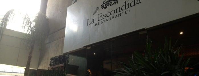 La Escondida is one of Comer como rey.