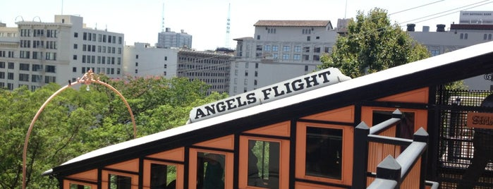 Angels Flight - Upper Station is one of 100 Cheap Date Ideas in LA.