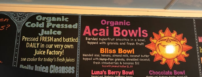 Blissed Out Smoothies is one of Juice.