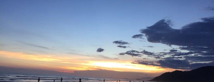 Praia de Boracéia is one of Lieux qui ont plu à Roberta.