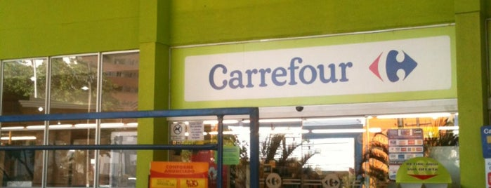 Carrefour is one of Lieux qui ont plu à Bruno.