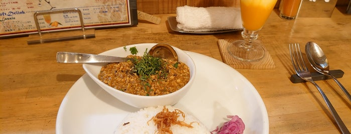 Spice Box is one of TOKYO-TOYO-CURRY 3.