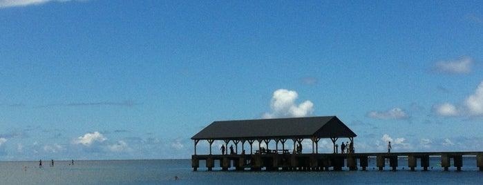 Hanalei Beach is one of kauai.