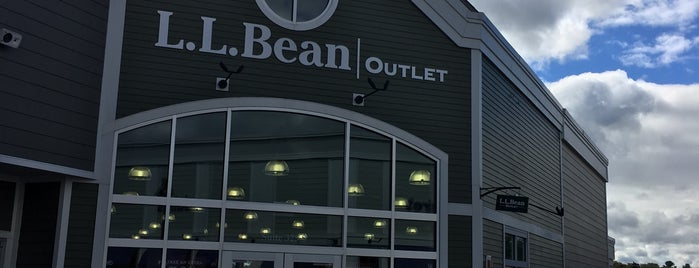 L.L.Bean Outlet is one of Portlandiame.