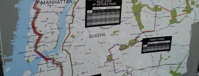 NYC Century Ride is one of สถานที่ที่ E ถูกใจ.