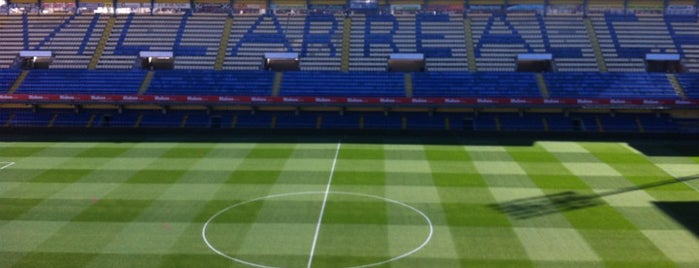 Estadio El Madrigal is one of Spain BBVA La Liga 2013 - 2014.