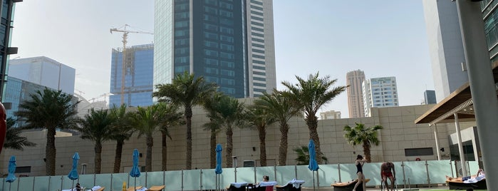 The Pool, Marriott Renaissance Hotel, Doha is one of 行ったとこ.