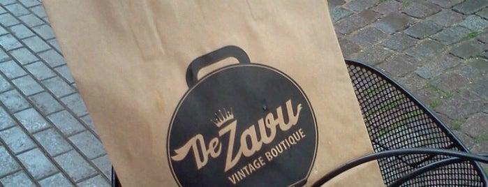 DeZavu Vintage Boutique is one of Riga.