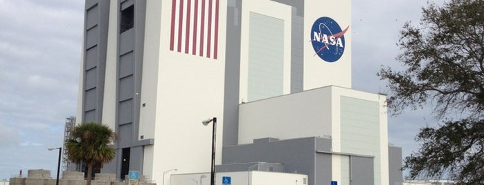 Vehicle Assembly Building (VAB) is one of Discover Florida's Space Coast.