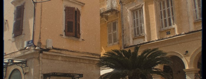 Old Town of Corfu is one of Kerkyra.