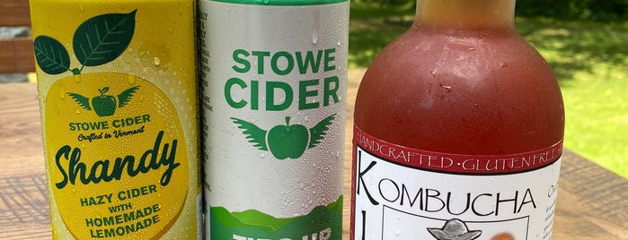 Stowe Cider is one of Where in the World (To Drink).