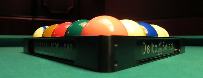 Society Billiards + Bar is one of Winter Dates.
