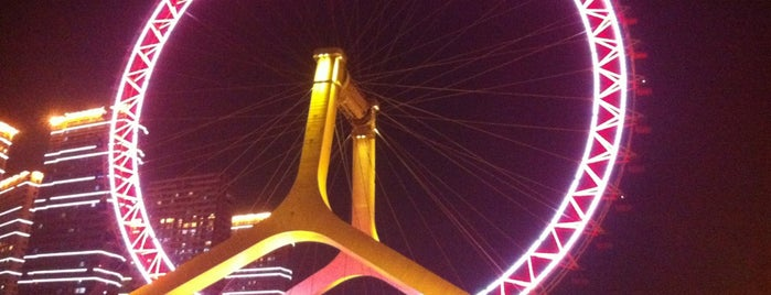 Tianjin Eye is one of tianjin.
