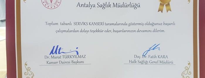 Antalya İl Sağlık Müdürlüğü is one of ERKiN'in Beğendiği Mekanlar.